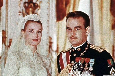 prince rainier grace kelly s wedding to prince rainier was an elegant affair photo huffpost