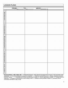 blank lesson plan template homeschooling pinterest With toddler lesson plan templates blank