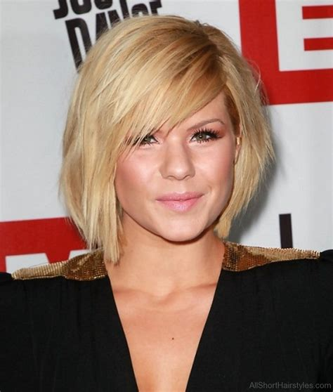 appealing short side swept haircuts  girls