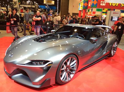 Toyota Ft-1 Graphite