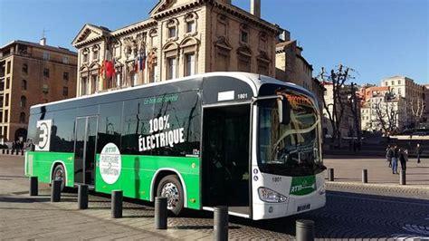 marseilles putting   electric bus  service