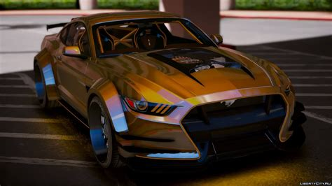ford mustang gt add  tuning   gta