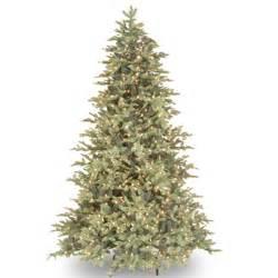 prelit artificial trees colonial fir quot feel real quot pre lit artificial tree