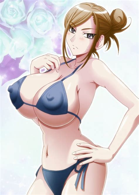 Sensual Anime Characters Pose Rather Seductively