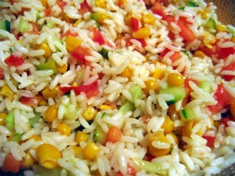 lapin cuisine marmiton salade riz tomate concombre
