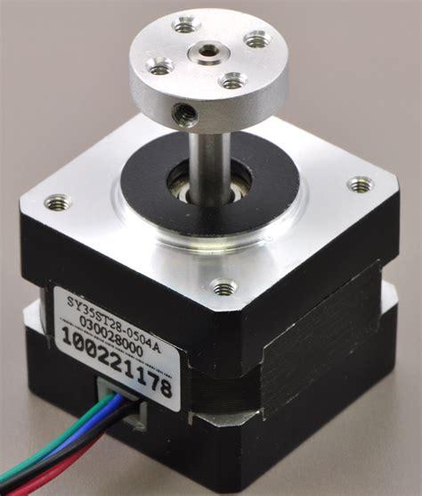pololu universal aluminum mounting hub  mm shaft   holes  pack