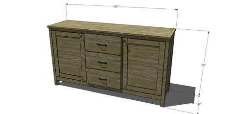 benchwright buffet woodworking plans woodshop plans