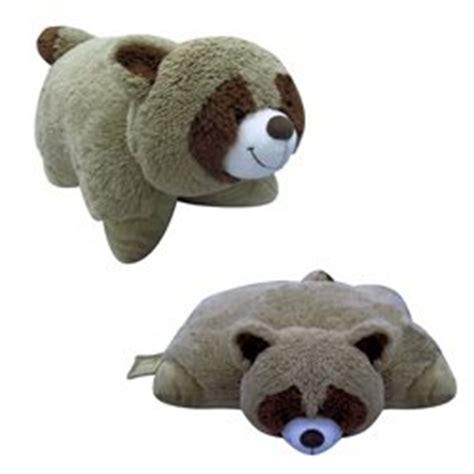 small pillow pets buy small raccoon pillow pet quot plush plush quot brand 11