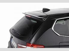 Roof spoiler for BMW X3 F25