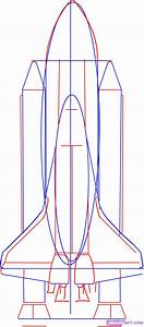 How to Draw the NASA Space Shuttle, Step by Step, Space ...