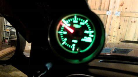 glowshift fuel pressure gauge  cummins youtube