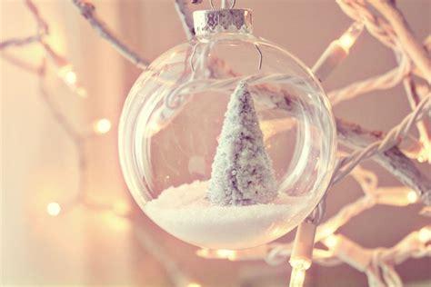 making glass christmas ornaments snow ornament