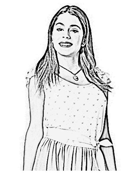 Kleurplaat Violetta by Violetta Disney Channel Coloring Page Sketch Coloring Page