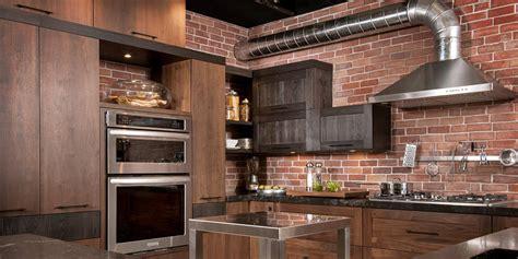 cuisine rustique loft cuisine bois noyer frêne quartz
