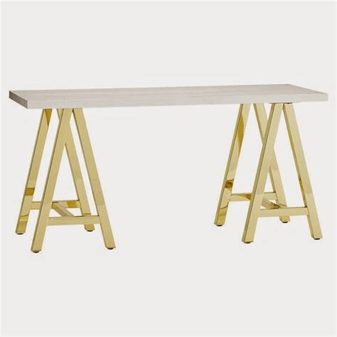 pottery barn look alike desk ikea desk hack for less than 60 gold and white desk