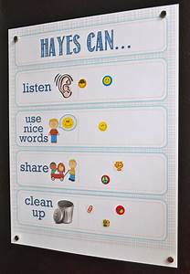 Positive Behavior Charts For Toddlers Printable Toddler Incentive Chart Kids Ideas Pinterest