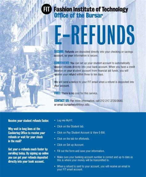 refunds fashion institute  technology