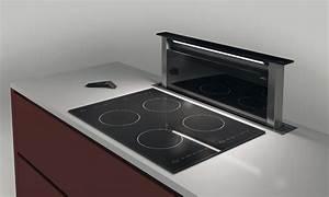 Hauteur Hotte Aspirante : hotte design inspiration cuisine ~ Carolinahurricanesstore.com Idées de Décoration