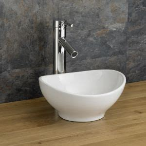 bologna mm  mm counter mounted oval small cloakroom