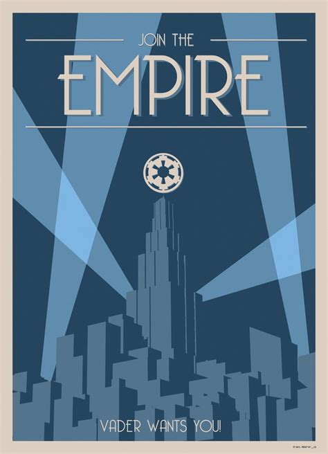 deco wars wars deco style poster join the empire posters wars plakat filmplakate
