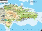 Map of Dominican Republic ~ Destination Punta Cana
