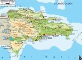 Dominican Republic Map Showing Punta Cana