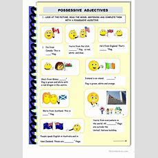 Possessive Adjectives And Genitive Case Worksheet  Free Esl Printable Worksheets Made By Teachers