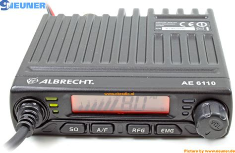 albrecht ae 6110 www cbradio nl pictures and specifications albrecht ae6110 multi norm cb radio