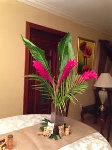Cuban Theme Party Centerpieces