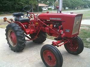 Farmall International Ih Tractor Seat Frame And Cushion