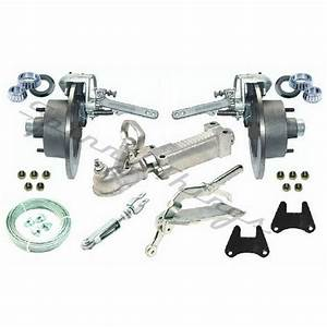 Galvanised Mechanical Disc Brake Kit