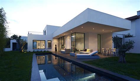 construction de 2 villas contemporaines et piscine 224 anglet architectes roode arag 252 es architectes
