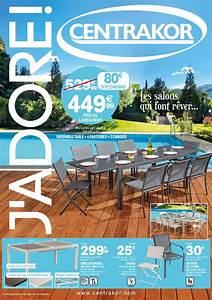 Mobilier De Jardin Hesperide : meuble exterieur centrakor ~ Dailycaller-alerts.com Idées de Décoration