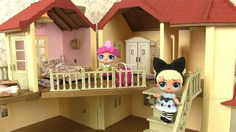 poupées lol maison chambre de poupée sylvanian families
