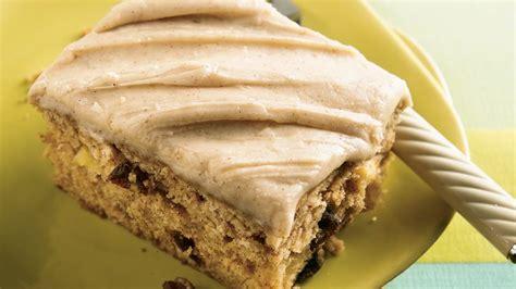 applesauce spice cake recipe pillsburycom