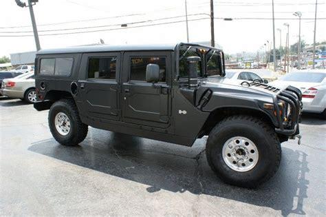 Matte Black H1 Hummer