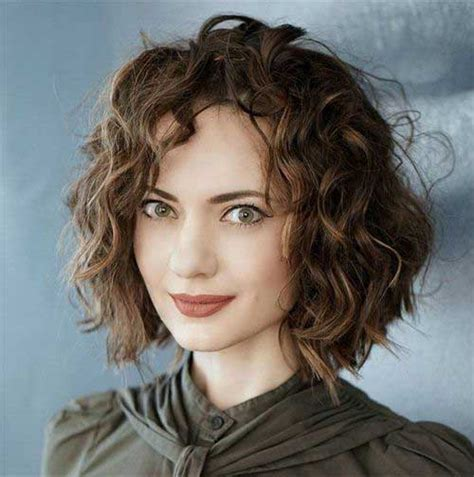 really stylish curly bob hairstyles for bob