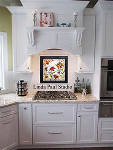 kitchen backsplash ideas pictures and installations With kitchen colors with white cabinets with ready to hang wall art