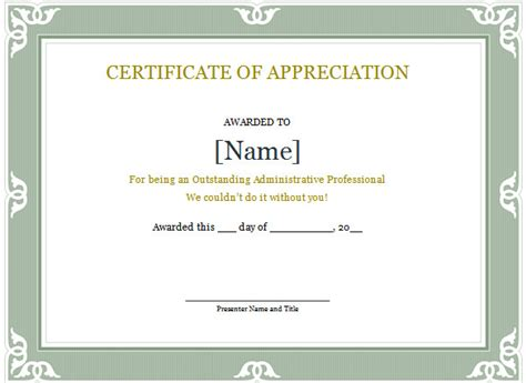certificate of recognition template word word certificate template 49 free sles exles format free premium templates