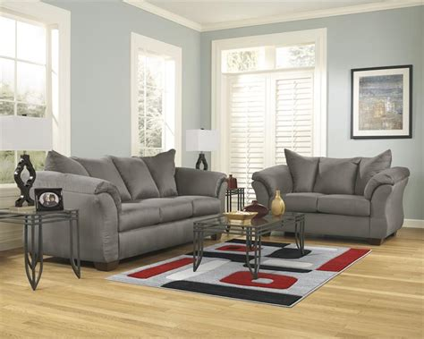 darcy collection  ashley sofa loveseat set