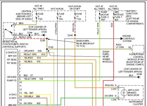 Sensor Wiring Diagram 2008 F250 by Check Engine Light On Abs Light On Od Light Is