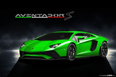is this how the lamborghini aventador s will look carscoops