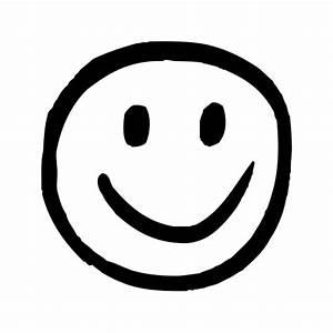 happy, hand-drawn, smiley icon