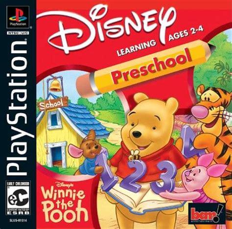 winnie the pooh preschool sony playstation 835 | ps1 winnie the pooh preschool 120314