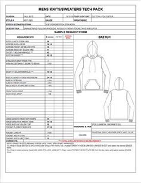 missyjunior spec sheet sample womens mens childrens