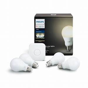 Philips Hue White Ambiance : philips hue white ambiance smart light bulb starter kit ~ Orissabook.com Haus und Dekorationen