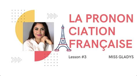 🇫🇷FRENCH PRONUNCIATION vowels and basic words - Lesson 3 ...