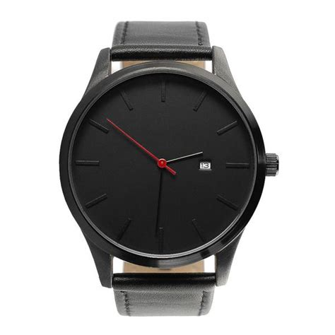 simple black  minimalist classy affordable men