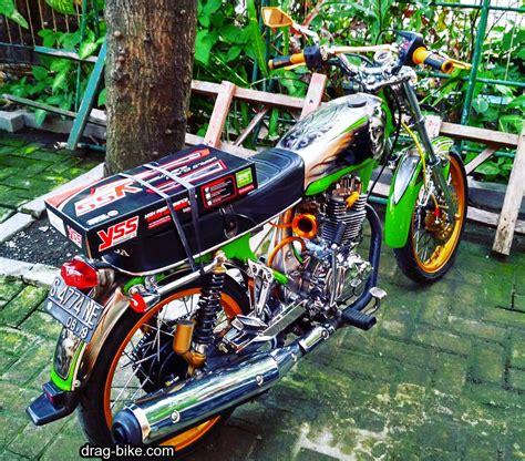 Honda Cb Mesin Tiger Modifikasi by 50 Foto Gambar Modifikasi Honda Cb 100 Klasik Style