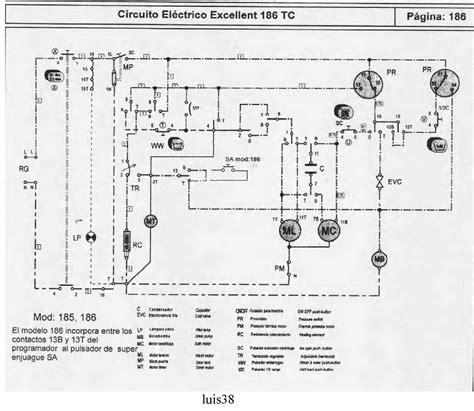 solucionado conexionado reloj lavarropas drean 186 td yoreparo